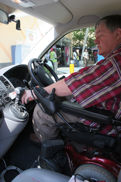 Driving After Spinal Cord Injury