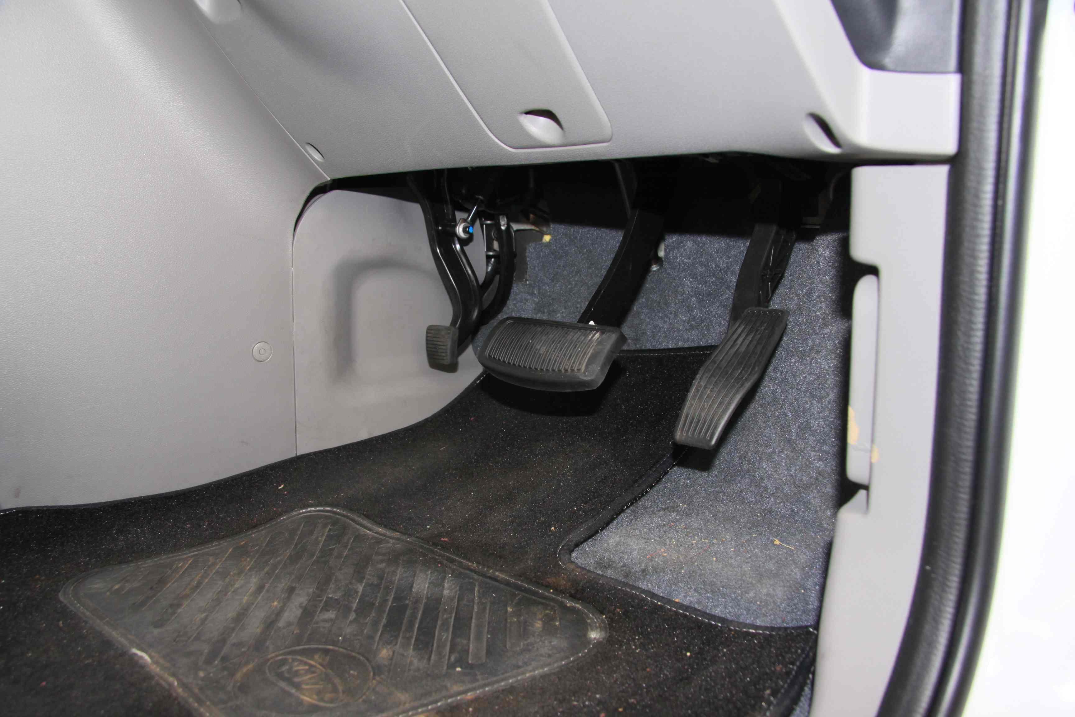 Foot park brake