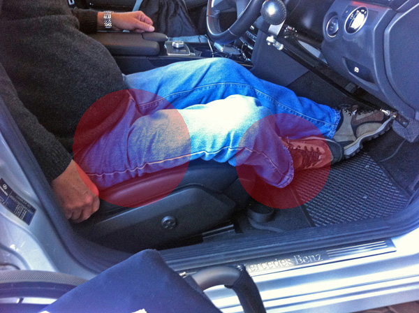 Leg positioning