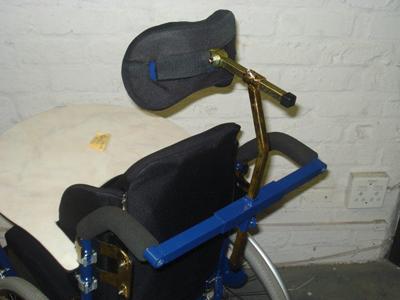 Clip on headrest