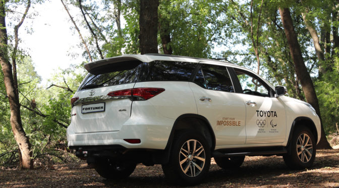 Toyota Fortuner – start your impossible