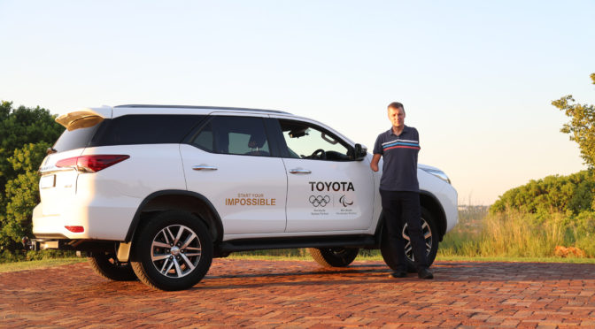 Introducing Pieter Badenhorst – brand ambassador for Toyota South Africa